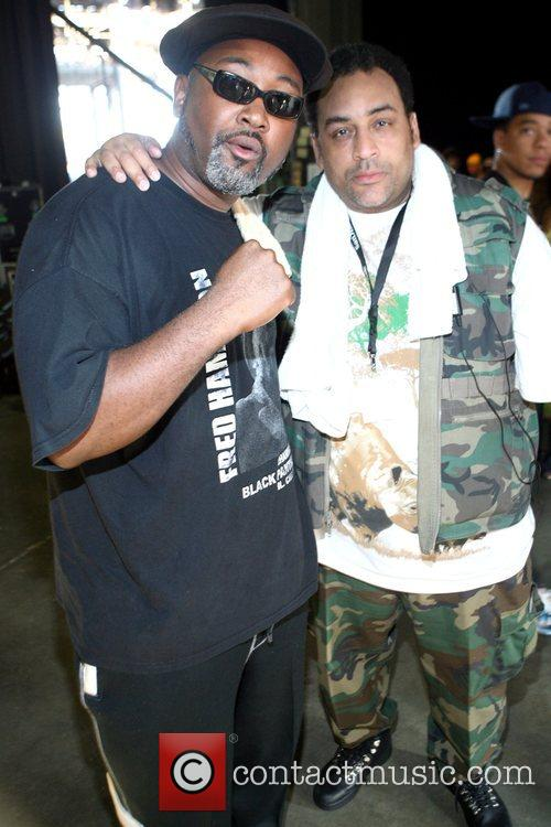 Fred Hampton Jr. and Muhammad  The Rock...