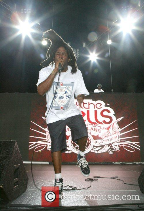 Murs The Rock The Bells festival at the...