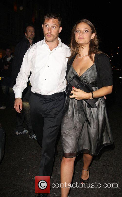 Tom Hardy and Guest Afterparty for 'RocknRolla' held...