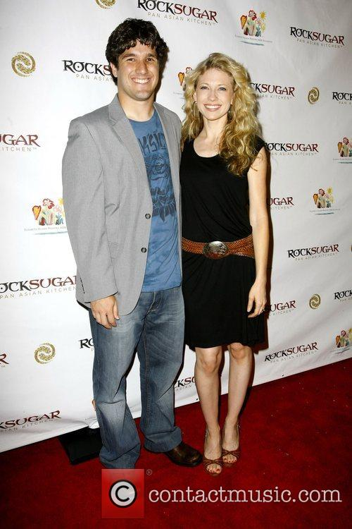 Brook White and Dave Ray Rocksugar Restaurant opening...