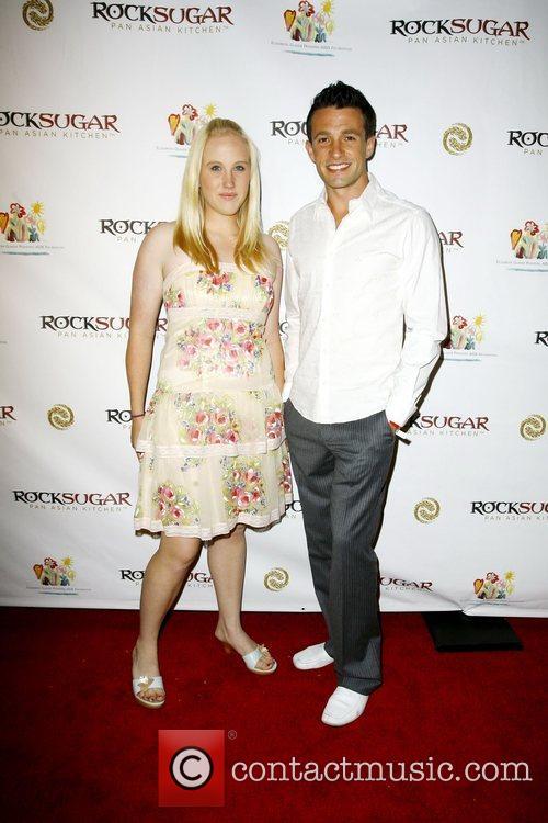 Guests Rocksugar Restaurant opening in Century City Los...