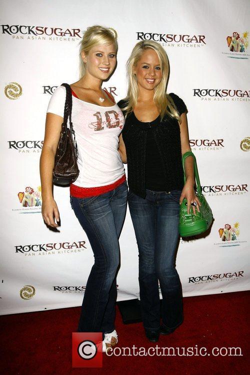 Holly Huddleston and Holly Shea Rocksugar Restaurant opening...