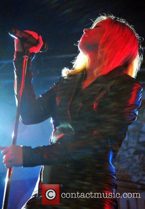 Performing in the Queen's Head pub in Glastonbury