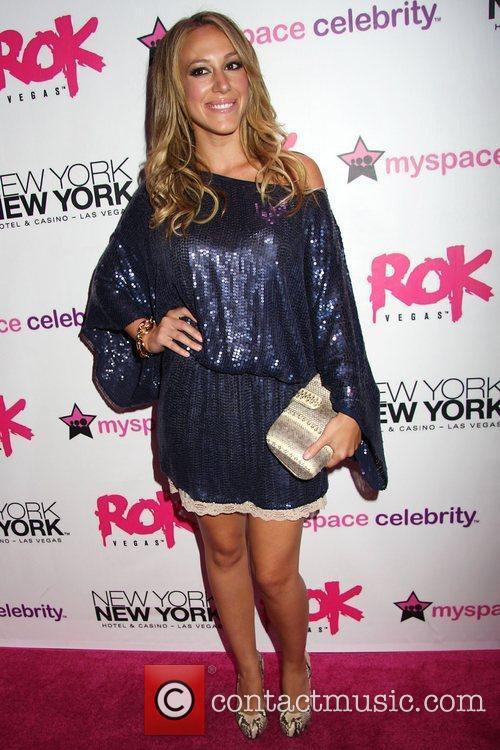 Haylie Duff Grand opening of Rok Vegas in...