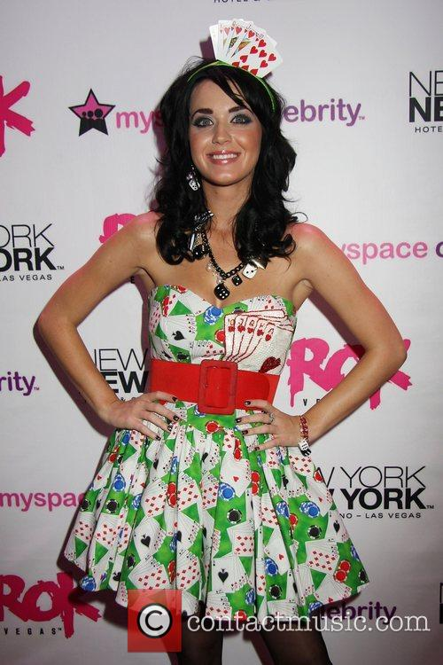 Katy Perry Grand opening of Rok Vegas in...