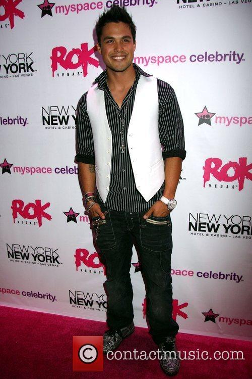 Michael Copon Grand opening of Rok Vegas in...
