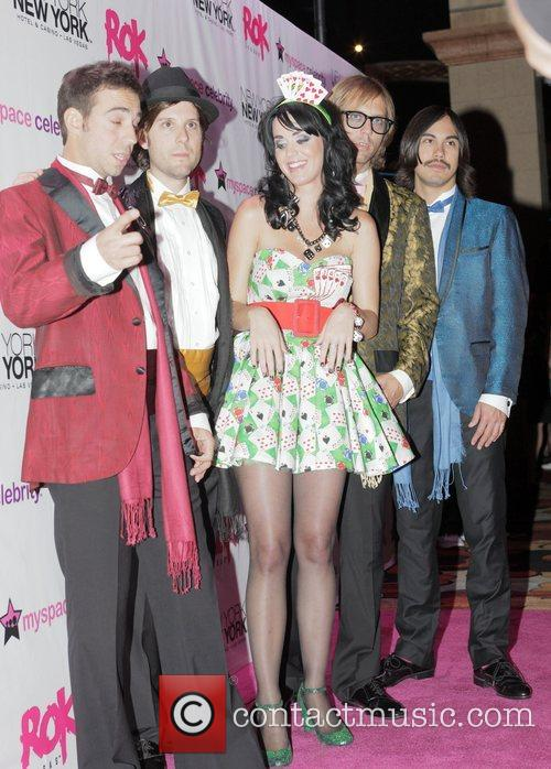 Katy Perry and her band peformed at the...