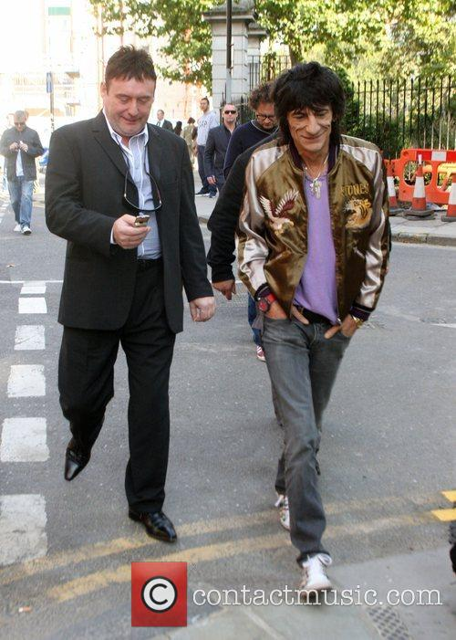 Ronnie Wood and Jimmy White 5