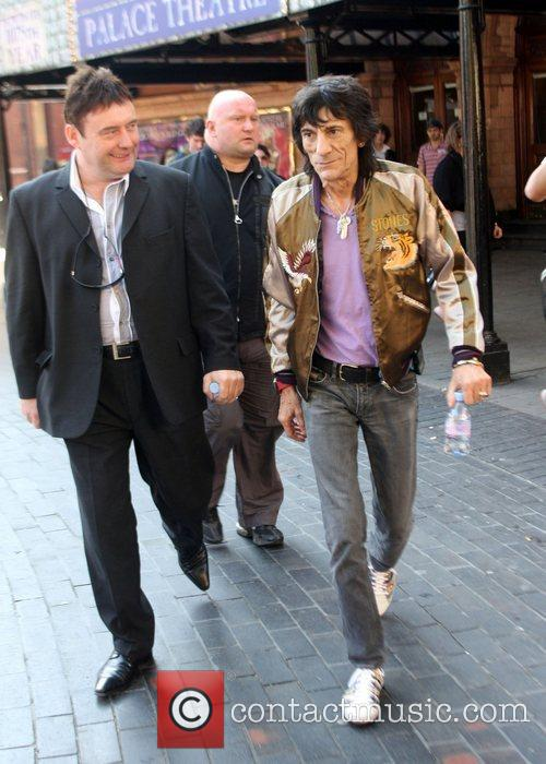 Ronnie Wood and Jimmy White 6