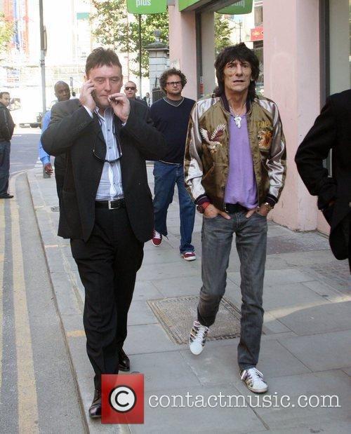Ronnie Wood and Jimmy White 8