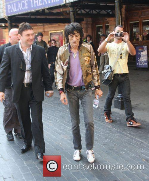 Ronnie Wood and Jimmy White 7