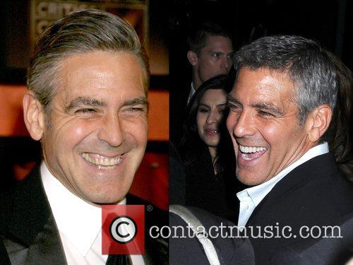 GEORGE CLOONEY'S NEW TEETH A comparison of old...