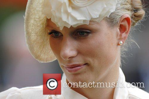 Zara Phillips looks on during Royal Ascot -...