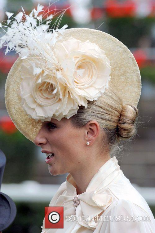 Zara Phillips  attends Royal Ascot - Day...