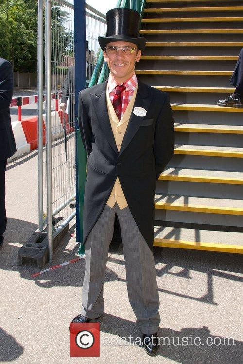 Frankie Dettori  arrives at Royal Ascot -...