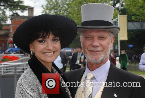 David Gold and daughter Jacqueline Gold at Royal...