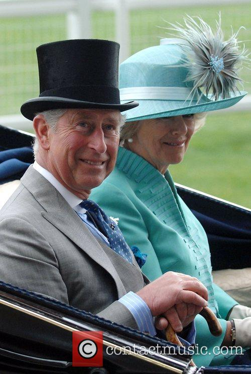 Prince Charles, Prince Of Wales, Camilla and Duchess Of Cornwall Arrive By Carriage To Royal Ascot - Day 2 4