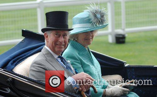 Prince Charles, Prince Of Wales, Camilla and Duchess Of Cornwall Arrive By Carriage To Royal Ascot - Day 2 2