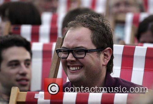 Alan Carr at the Rufus Wainwright gig at...