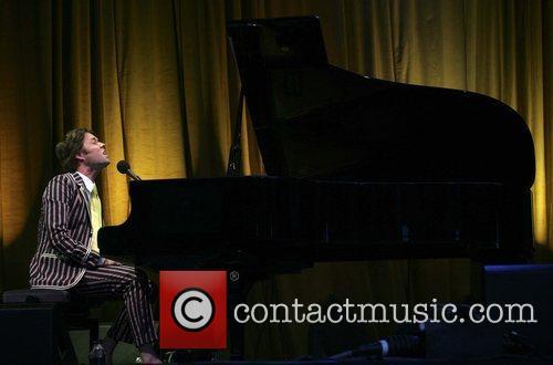 Rufus Wainwright performing at Kenwood House. London, England