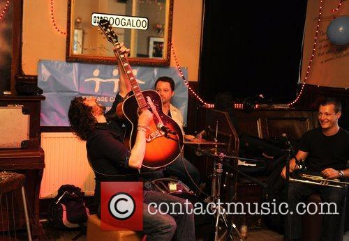 Ryan Lauder  performing at The Boogaloo in...