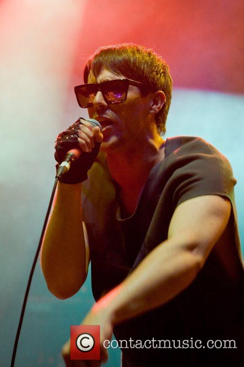 Performs at the iTunes Live London Festival at...