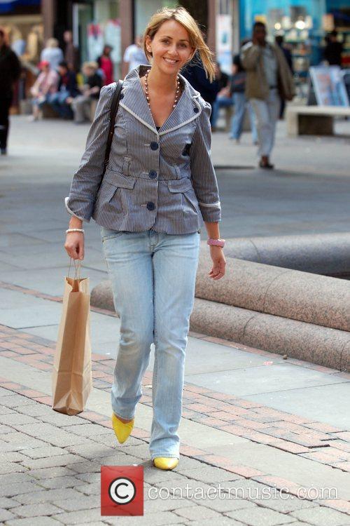 Coronation Street actress Samia Smith out shopping in...