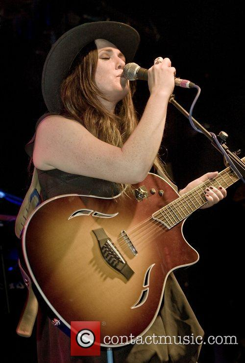 Sandi Thom  performs at the Liverpool Barfly...