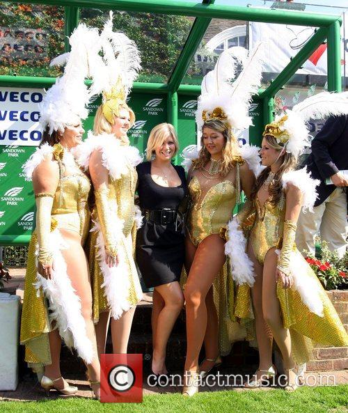 Suzanne Shaw and Showgirls 50th anniversary of 'Variety...