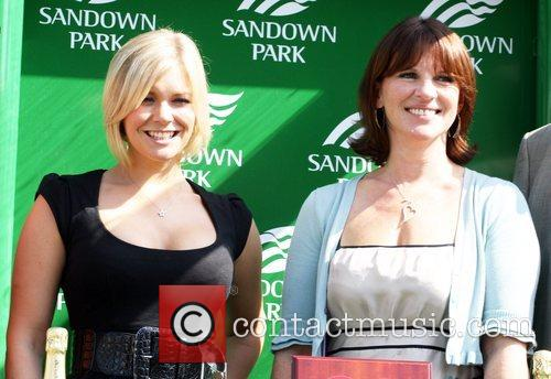 Suzanne Shaw and Guest 50th anniversary of 'Variety...