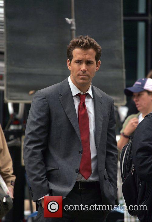 Ryan Reynolds on the film set of 'The...