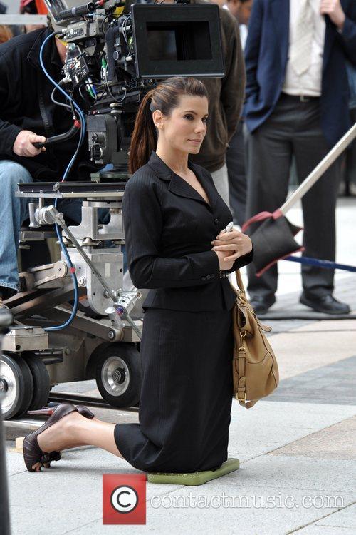 Sandra Bullock - on the film set of 'The Proposal' | 72 ...