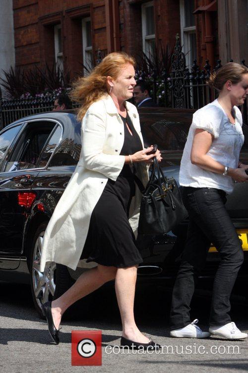 Sarah Ferguson Duchess of York seen arriving at...