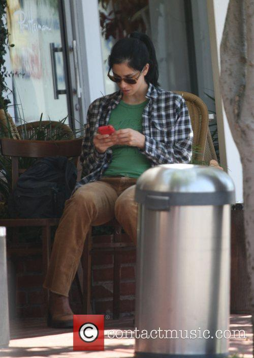 Sarah Silverman had lunch with a friend at...