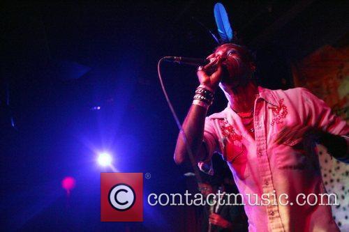 Saul Williams  performing of his new album...