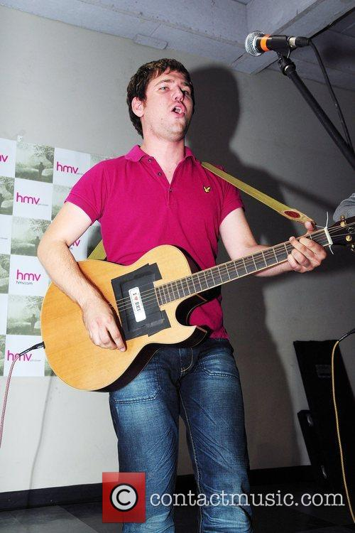 Scouting For Girls  perform an acoustic instore gig...