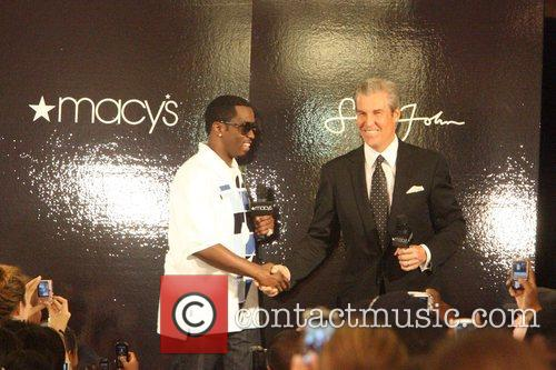 Sean Combs aka P Diddy and Terry J....