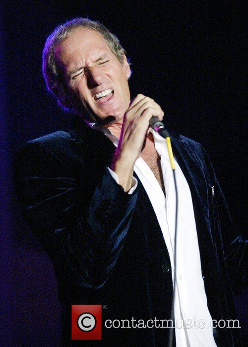 Michael Bolton performing at An Evening With Michael...