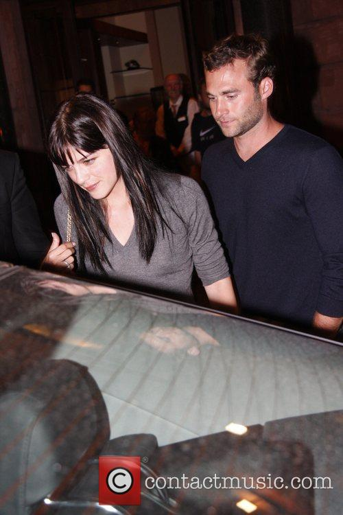 Selma Blair and Her Fiance 9