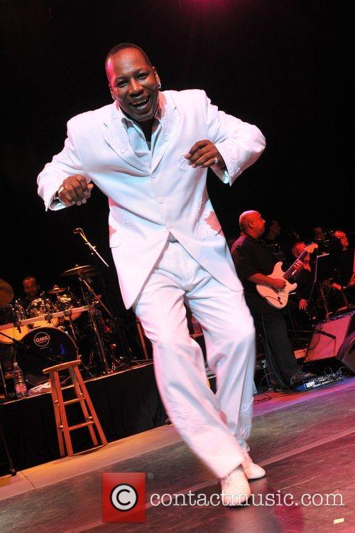 Eric Grant of The O'Jays  live at...