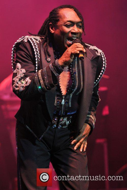 Walter Orange of the Commodores  live at...