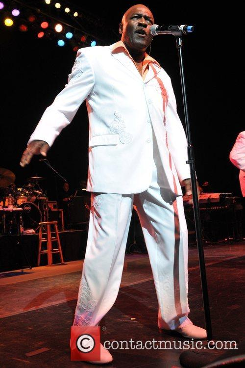 Walter Williams of The O'Jays  live at...