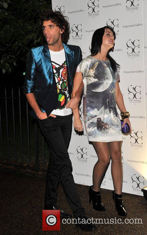 Mika and Katie Perry The Serpentine Gallery summer...