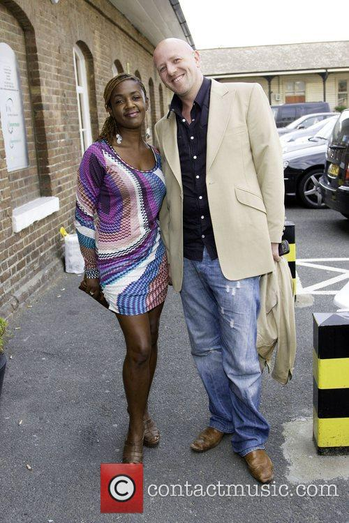 Diane-Louise Jordan and Giles Broadbent  attend the...
