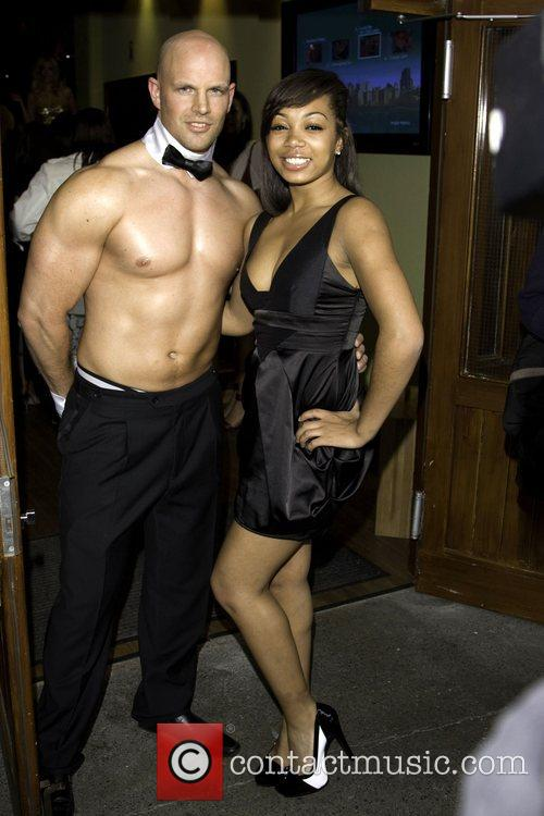Zaraah Abrahams and Guest attend the Sex And...