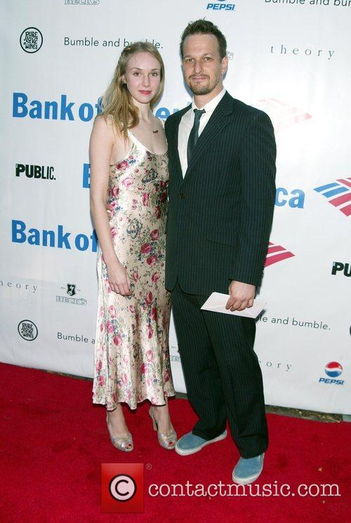Sophie Flack and Josh Charles The Public Theater's...
