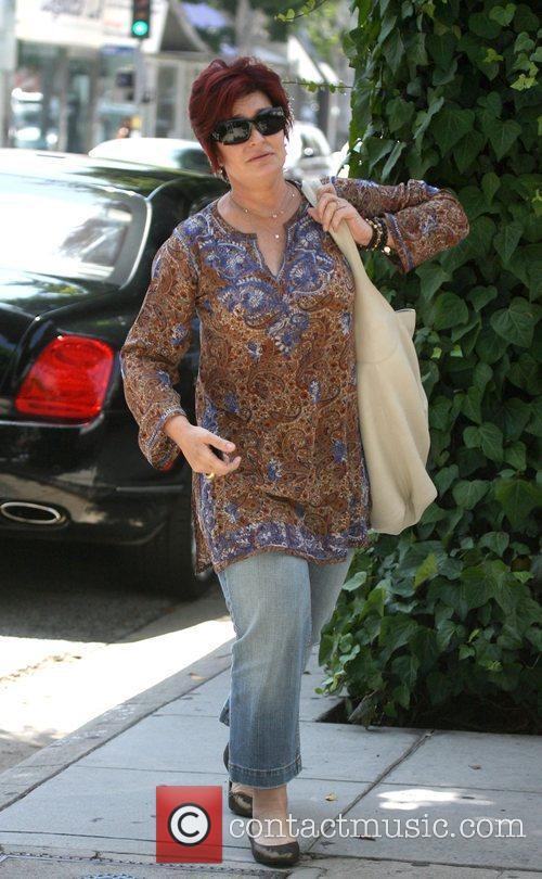 Sharon Osbourne shopping at Chanel on Robertson Boulevard...