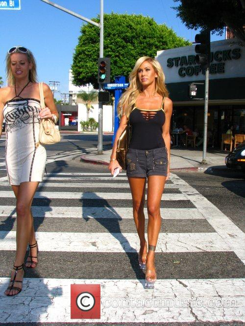 Shauna Sand shopping on Robertson Blvd with a...