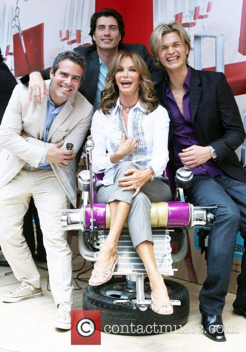 Andy Cohen, Jaclyn Smith and Rene Fris 2