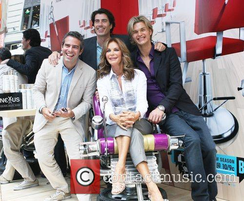 Andy Cohen, Jaclyn Smith and Rene Fris 1
